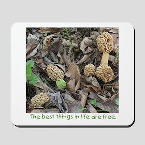 Morel Mushroom Mousepad