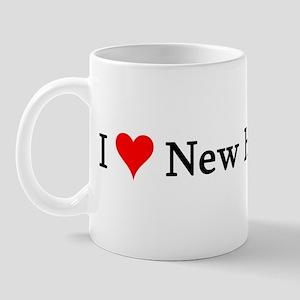 I Love New Hampshire Mug
