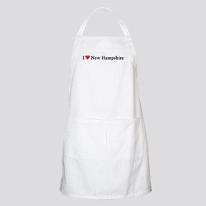 I Love New Hampshire BBQ Apron