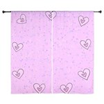 Heart Frame Curtains