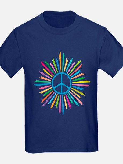 Peace Symbol Star T