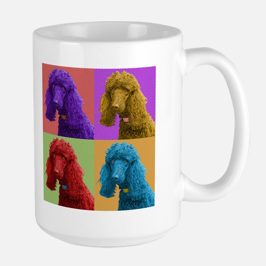 Pop Poodle Large Mug