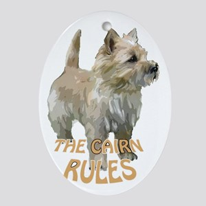 Cairn rules Oval Ornament