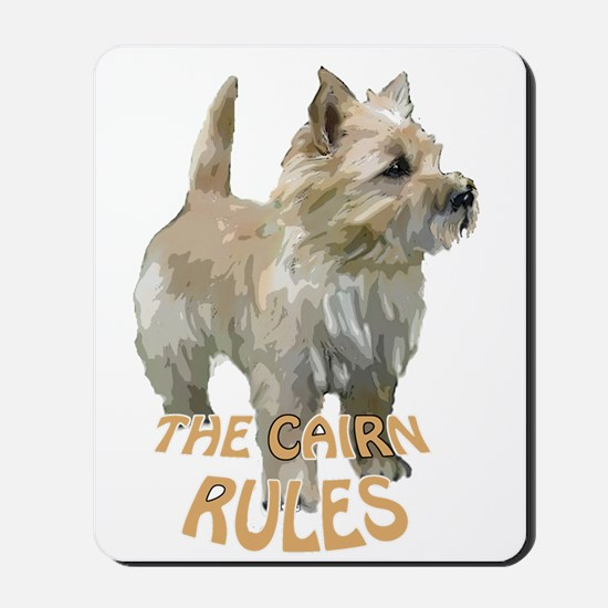 Cairn rules Mousepad