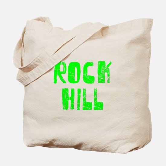 Rock Hill Faded (Green) Tote Bag