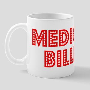 Retro Medical bil.. (Red) Mug