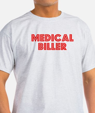Retro Medical bil.. (Red) T-Shirt