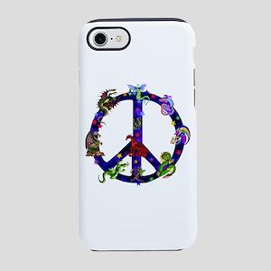 Dragons Peace Sign iPhone 8/7 Tough Case