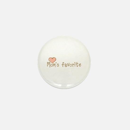 Mom's Favorite Mini Button