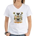 East Prussia Coat of Arms Women's V-Neck T-Shirt