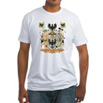East Prussia Coat of Arms Fitted T-Shirt