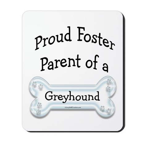 Proud Foster Blue Mousepad