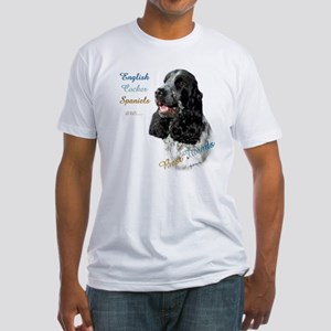 English Cocker Best Friend1 Fitted T-Shirt