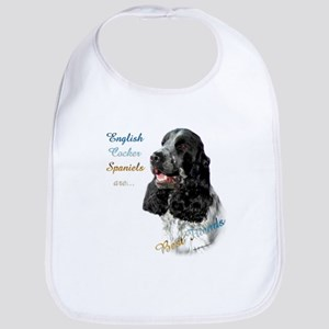 English Cocker Best Friend1 Bib