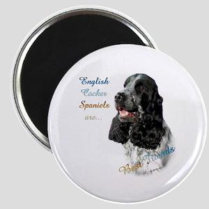 English Cocker Best Friend1 Magnet