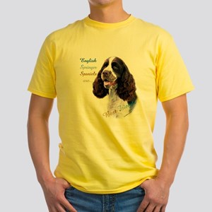 English Springer Best Friend1 Yellow T-Shirt