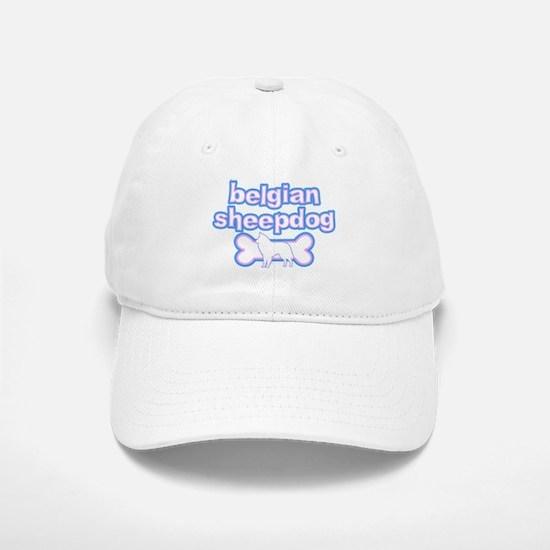 Powderpuff Belgian Sheepdog Baseball Baseball Cap