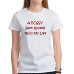 A Bossy Jack Russell Women's T-Shirt