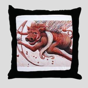 Cupig Throw Pillow