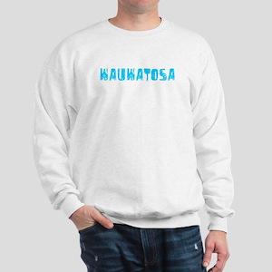 Wauwatosa Faded (Blue) Sweatshirt