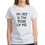 My JRT is the Boss of me Women's T-Shirt
