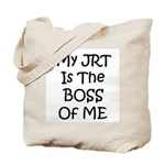 My JRT is the Boss of me Tote Bag