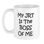 My JRT is the Boss of me Mug
