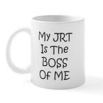 My JRT is the Boss of me Mug