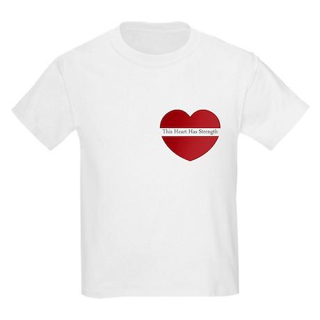 Heart Strength Kids Light T-Shirt