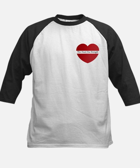 Heart Strength Kids Baseball Jersey