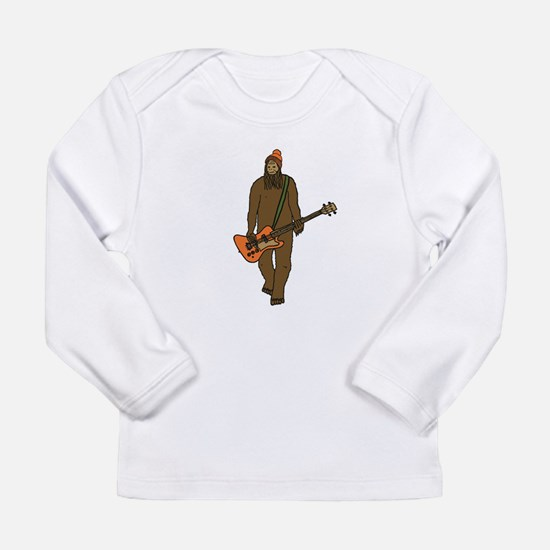 Mr Big on Bass Long Sleeve T-Shirt