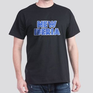 Retro New Iberia (Blue) Dark T-Shirt