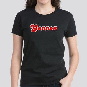 Retro Gannon (Red) Women's Dark T-Shirt