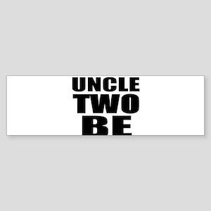 twins uncle Bumper Sticker