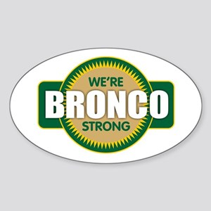 Bronco Strong Sticker