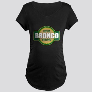 Bronco Strong Maternity T-Shirt