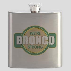 Bronco Strong Flask