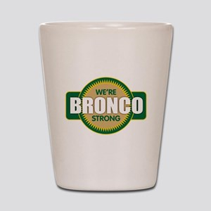 Bronco Strong Shot Glass