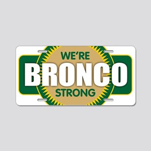Bronco Strong Aluminum License Plate