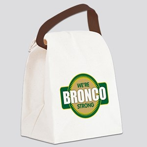 Bronco Strong Canvas Lunch Bag