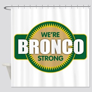 Bronco Strong Shower Curtain