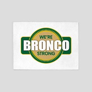 Bronco Strong 5'x7'Area Rug