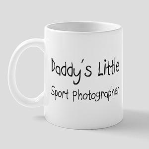 Daddy's Little Sport Photographer Mug