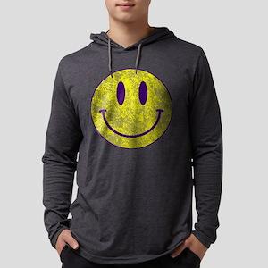 Happy FACE Louisiana State Vin Long Sleeve T-Shirt