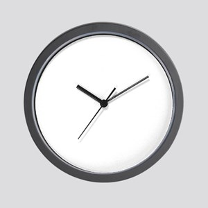 poised Wall Clock