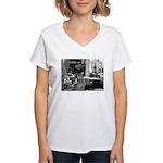 Kibble at Tiffany's Women's V-Neck T-Shirt