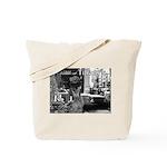 Kibble at Tiffany's Tote Bag