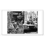 Kibble at Tiffany's Sticker (Rectangle)