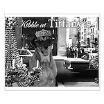 Kibble at Tiffany's Small Poster
