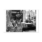 Kibble at Tiffany's Mini Poster Print